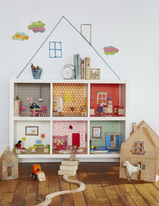 DIY - Faire une maison pour poupée