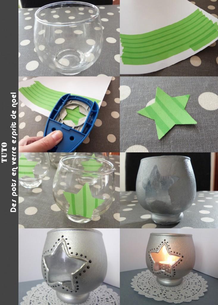 DIY decore un pot en verre