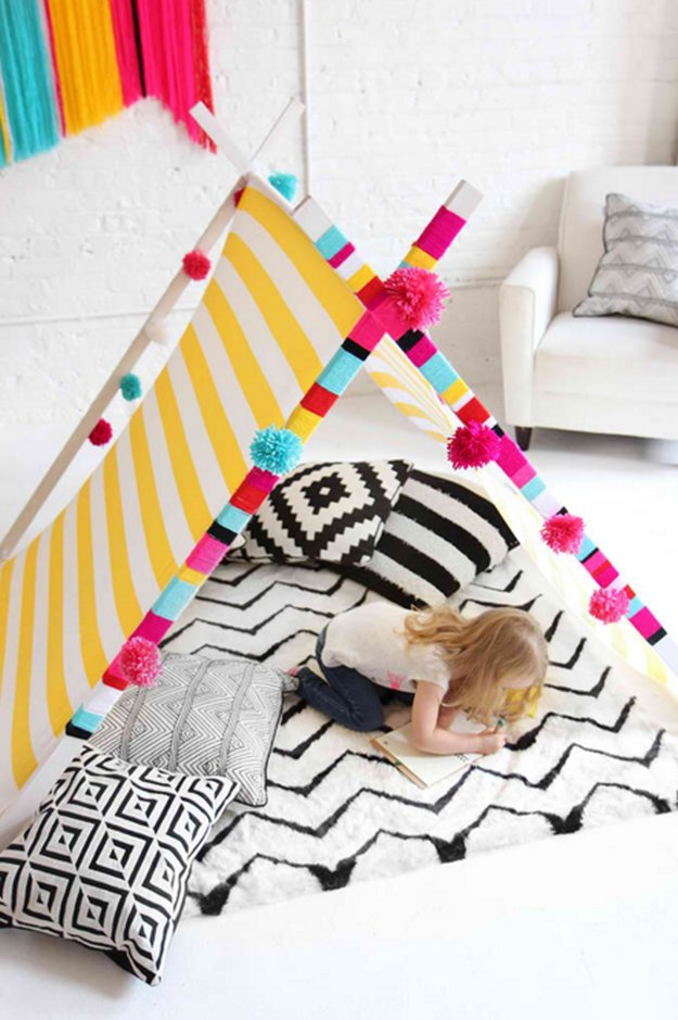 Teepee diy simple