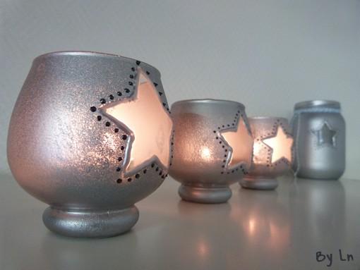 bougies-pots-en-verre-recup-étoiles