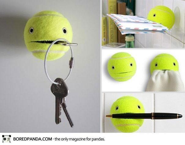 diy balle de tennis