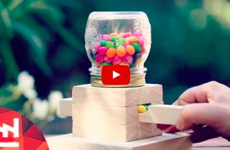 DIY : Fabriquer un distributeur de bonbons