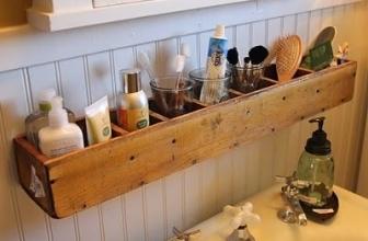 Voici des astuces DIY pour tout ranger dans une salle de bain