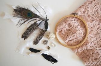 Cinq idées créatives à réaliser avec de la dentelle